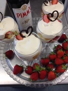 Pimms & Strawberrys